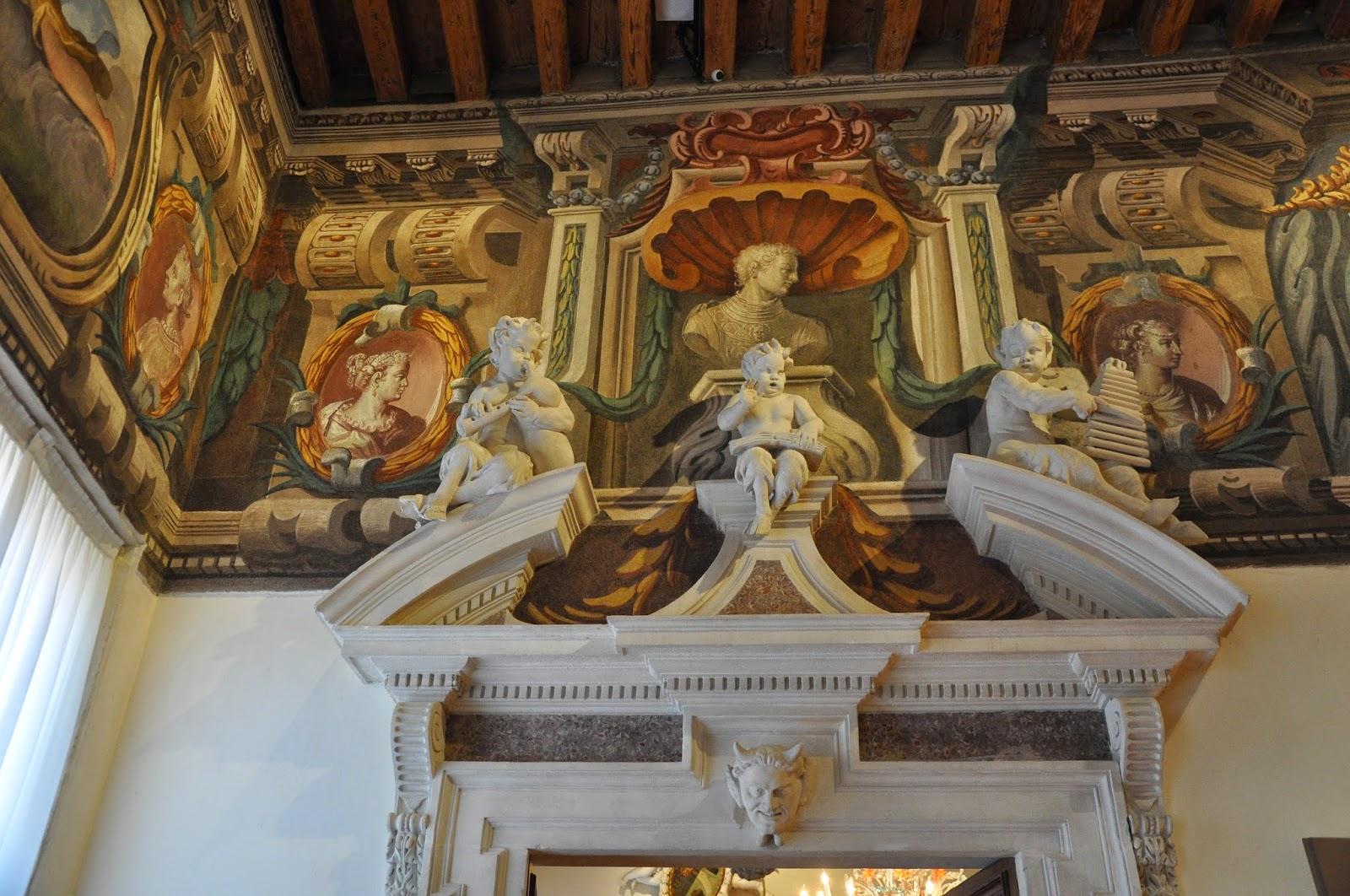 Frescoes, Gallerie D'Italia in Palazzo Leoni Montanari, Vicenza, Italy-2