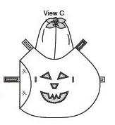 dog pumpkin costume patterns
