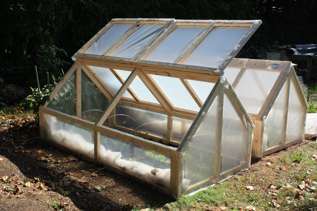 Bepa's Garden: Cold Frame (mini-greenhouse) Feedback