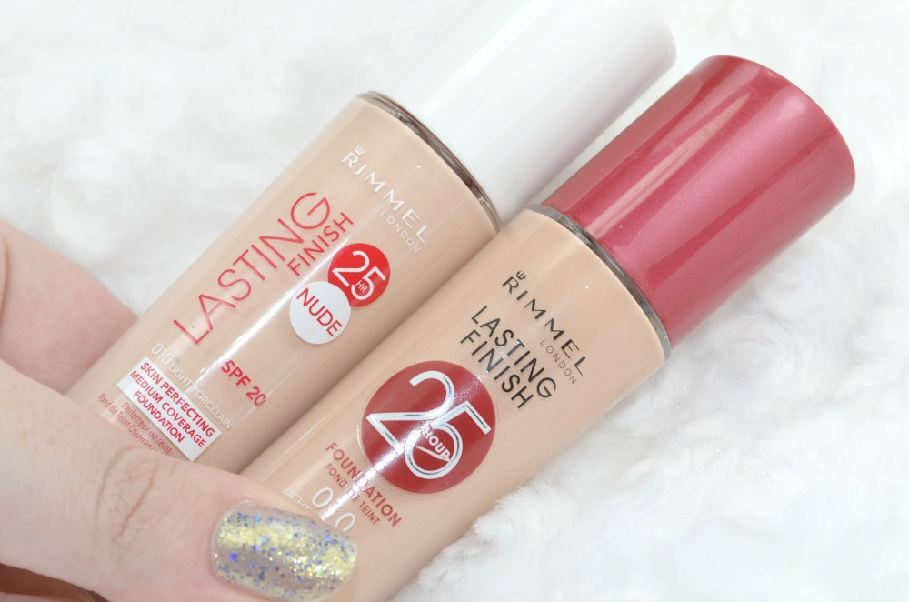 Rimmel 25 Hour Lasting Finish Nude Foundation in Light Porcelain