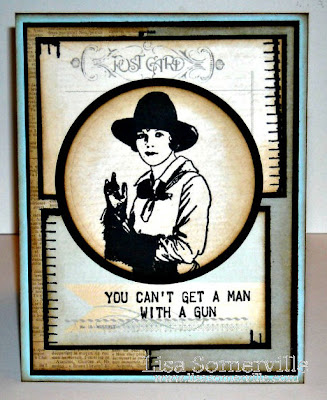 Stamps - Artistic Outpost Cowgirl Strength