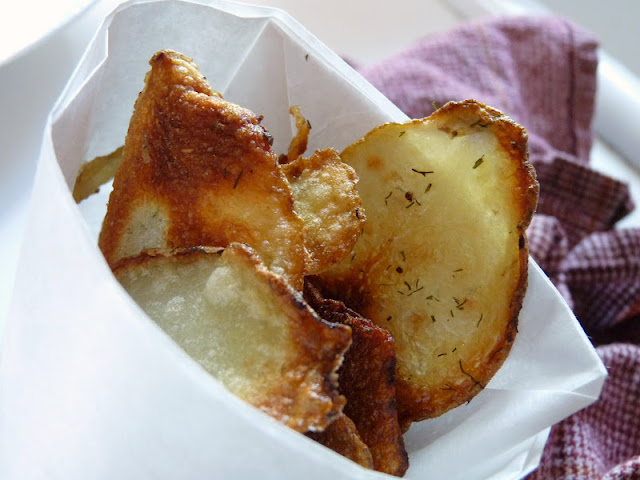 Candace Creations: Homemade Potato Chips