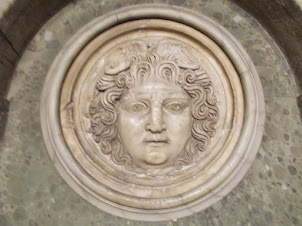 """""""Medusa Head"""" in Istanbul Archaeological museum."""