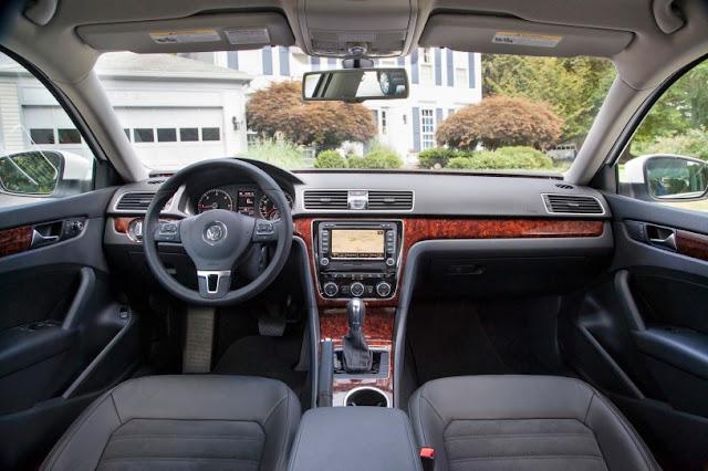 2015 exclusive Volkswagen Passat New interior dashboard
