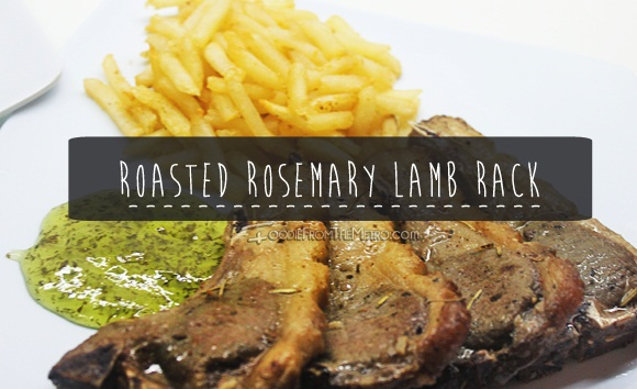 Recipe for Roasted Lamb Rack
