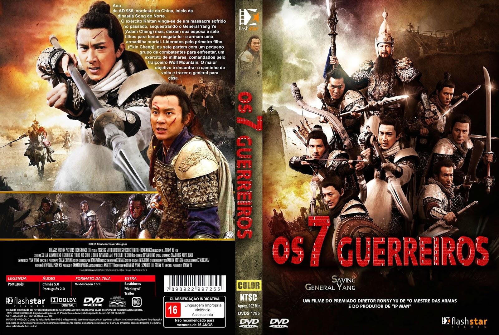 Download Os 7 Guerreiros DVD-R 9tvbbrq