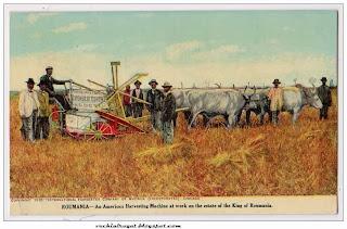 Masini agricole pe domeniile regale