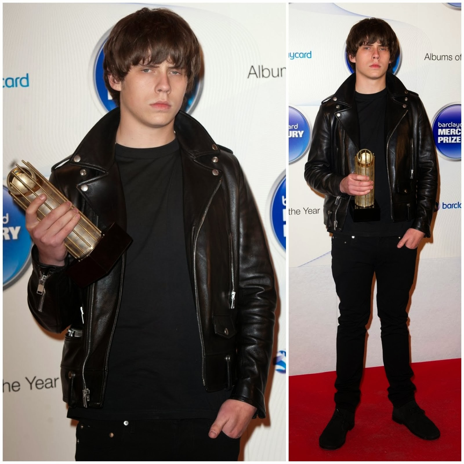 00O00 Menswear Blog: Jake Bugg in Saint Laurent - Barclaycard Mercury Prize 2013