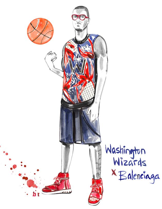 NBAのユニフォームとハイファッションブランドのコラボはいかがでしたでしょうか!? 気に入っていただけたでしょうか?