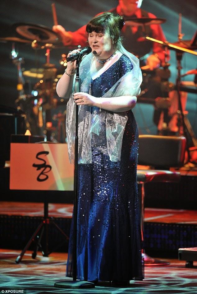 Susan Boyle  UK Concert