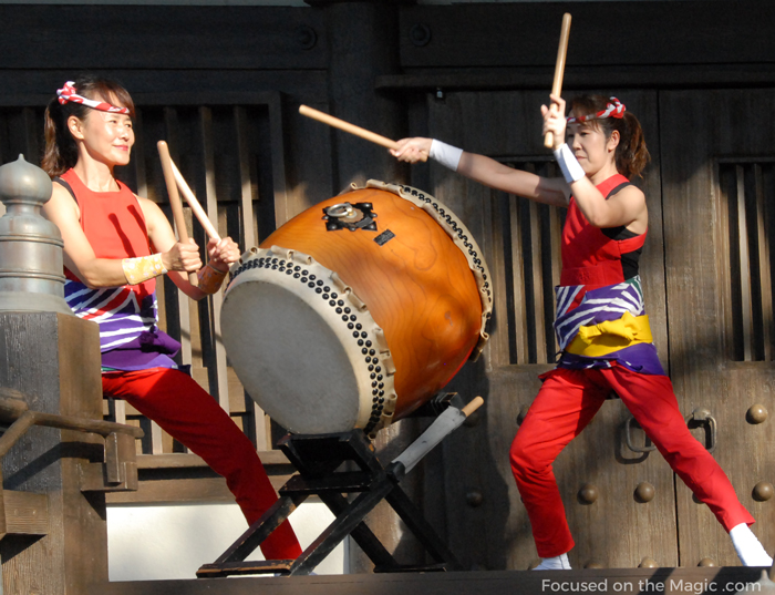 The drumming group, Taiko  at Epcot.