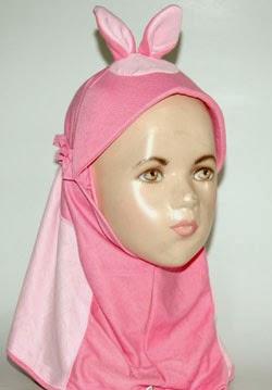 Memilih Model Jilbab yang Cocok Untuk Anak-Anak