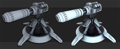 Starcraft Turret W.I.P