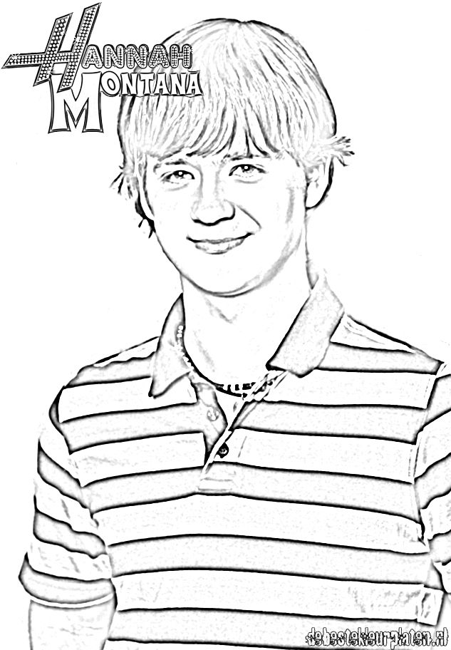 Desenhos da hannah montana para imprimir e colorir for Montana coloring pages