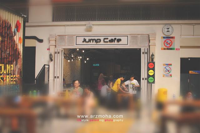 jump cafe, jumpstreet, jumpstreet trampoline park penang,