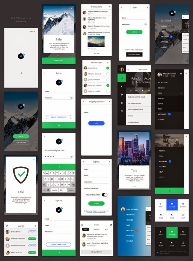 View all posts in web template design psd