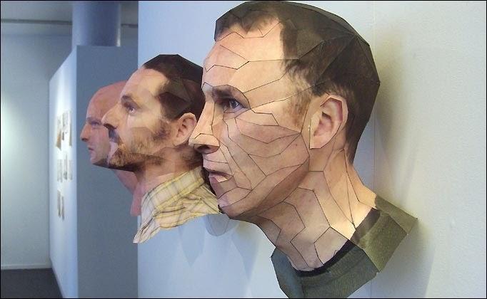 Karya Seni Inovatif Patung 3D dari Kertas | VeroMons