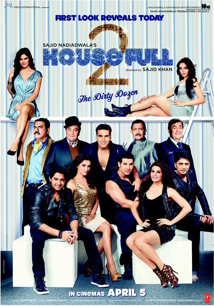 Housefull 2 Movie First Look