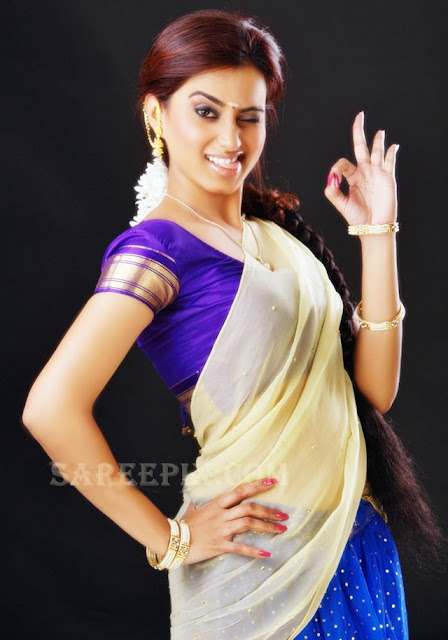 Yaaruda-Mahesh-heroine-Dimple-Chopade-half-saree-photoshoot