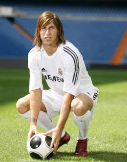 SERGIO RAMOS LONG HAIR