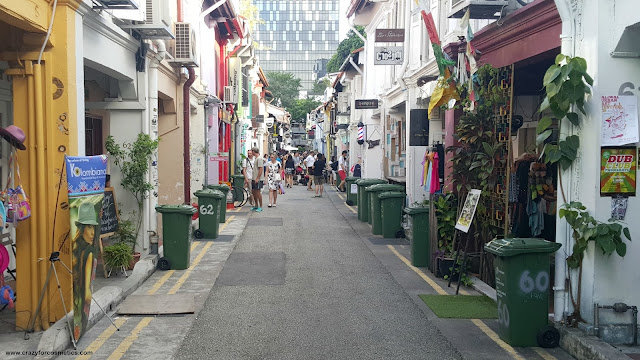 Haji lane Singapore cafes