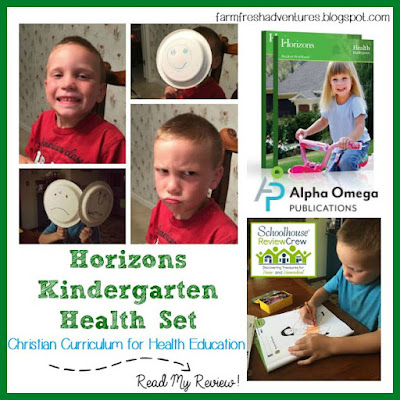 Horizons Kindergarten Health Set: Product Review