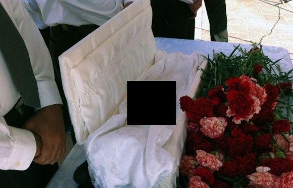 Doe B Funeral Casket