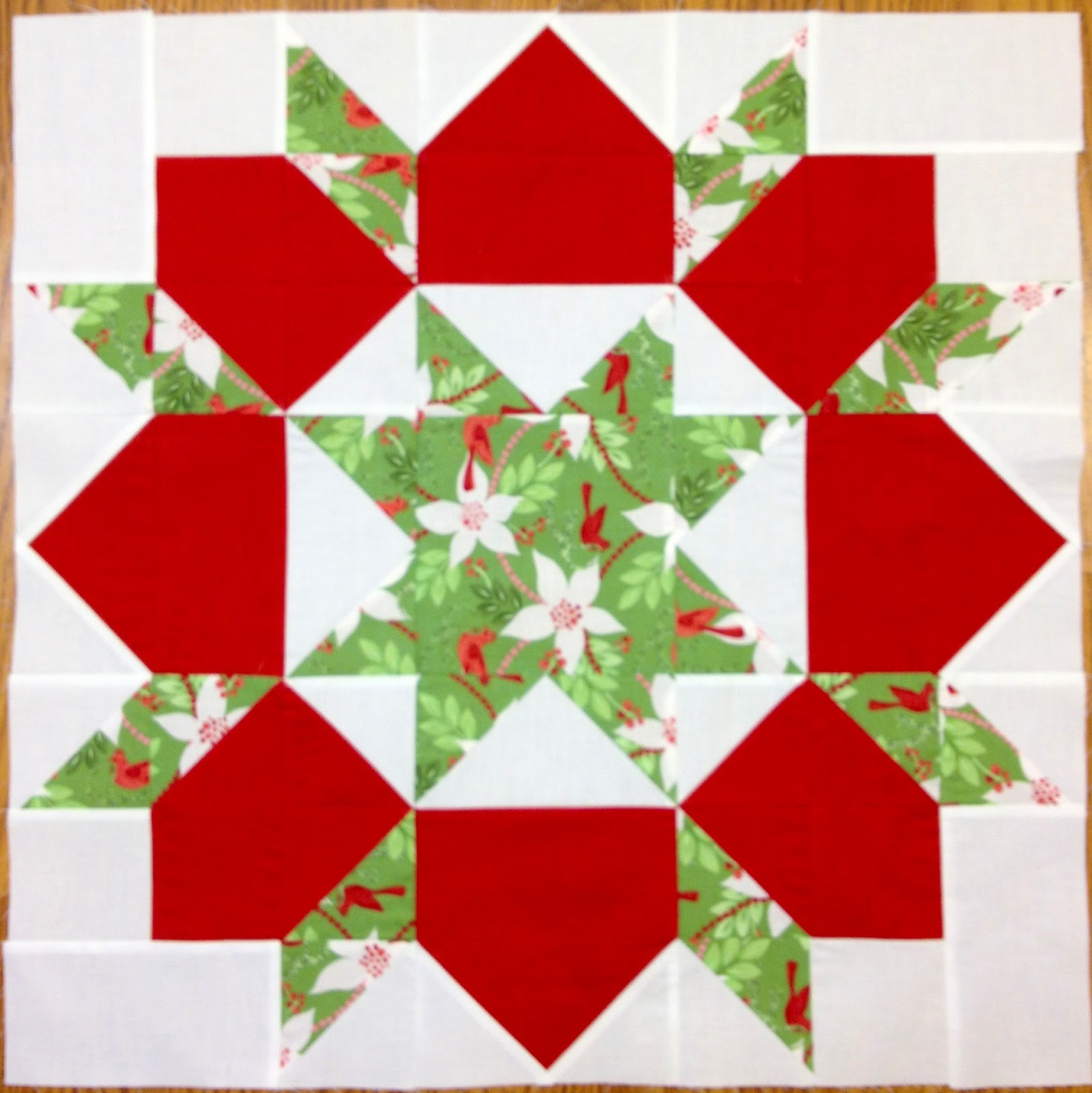 Flurry Swoon Quilt Block