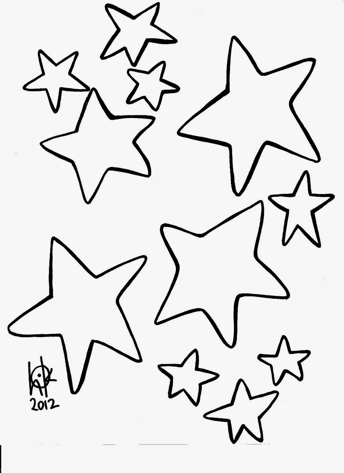 Star coloring pages star coloring pages 3 star coloring pages 4 star - Coloring Picture Of A Star Black And White Pictures To Color With Cartoon And Animal Coloring Pages