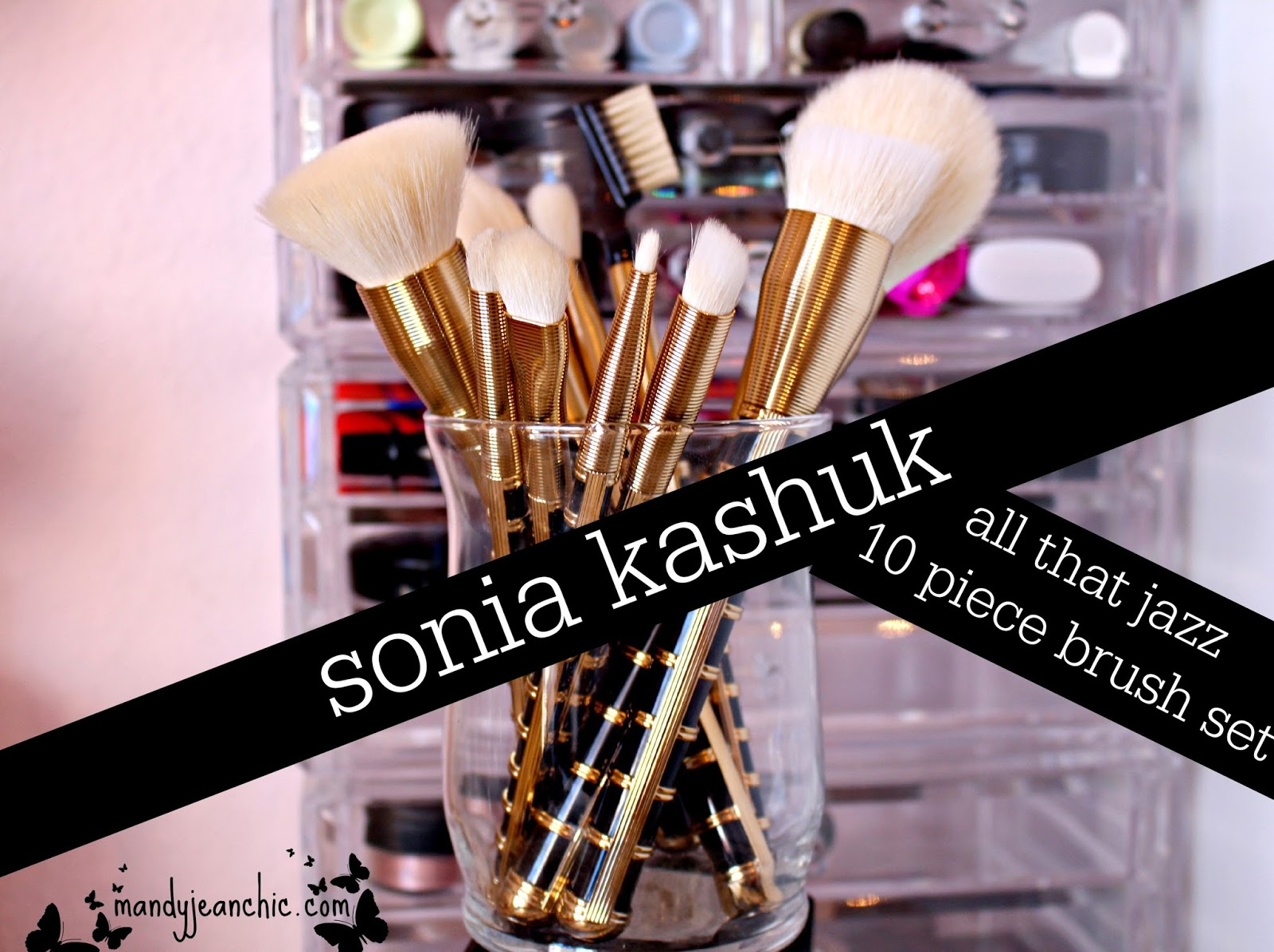 Sonia Kashuk All That Jazz Brush Set