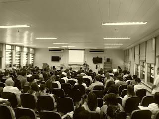 O auditório do ICHF/UFF