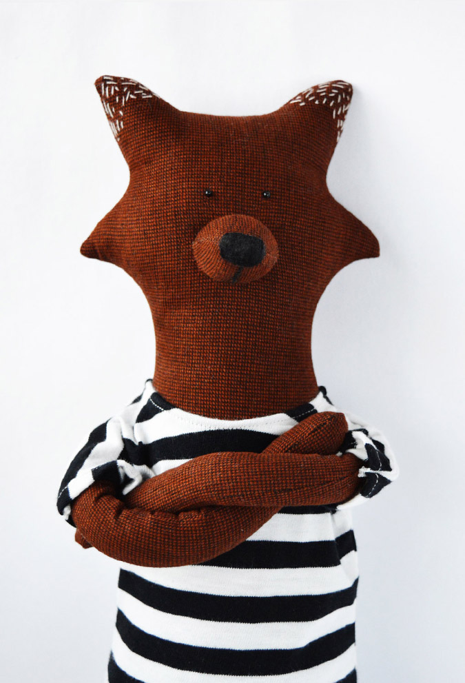 soft toy fox