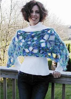 Unforgettable Ponchette crochet pattern by taraduff on Etsy