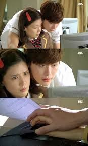 Lee Bo Young dan Lee Jong Suk (I Hear Your Voice)