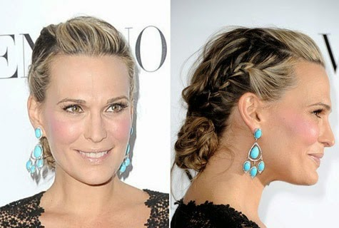 French Braid Bun Hairstyles