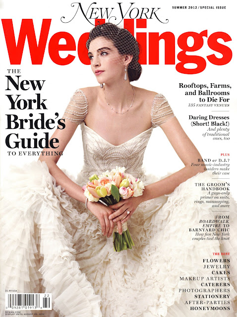 New York Magazine Weddings Summer 2012 cover