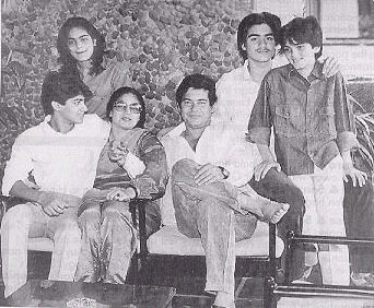 Salman's family