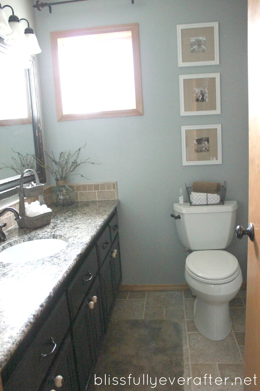 diy bathroom makeover remodel