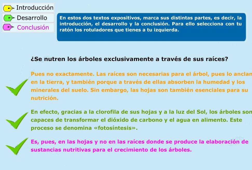 http://www.primerodecarlos.com/TERCERO_PRIMARIA/octubre/Unidad3/actividades/lengua/la_exposicion/index.html