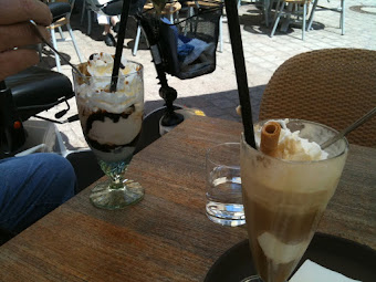 2 types of Eiskaffee