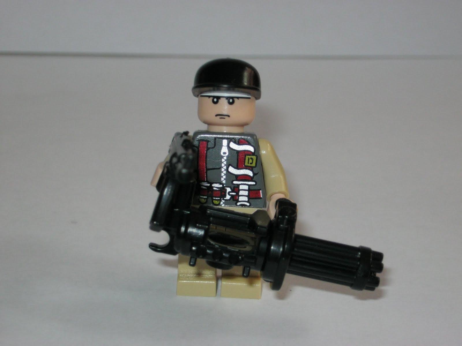 Схемы для сборки LEGO : Тема: Миниган (1/1) 13