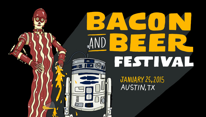 Bacon and Beer Fest 2015