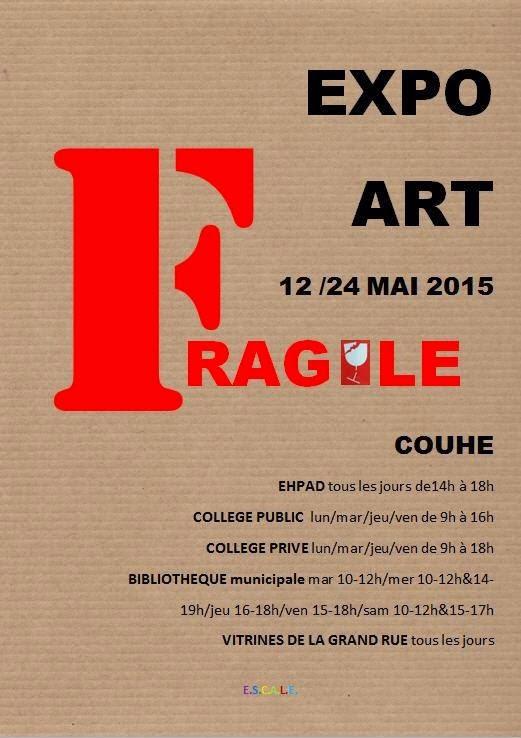 exposition Fragile à Couhé
