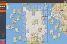 GeoJigsaw: juego de rompecabezas online en un mapa interactivo