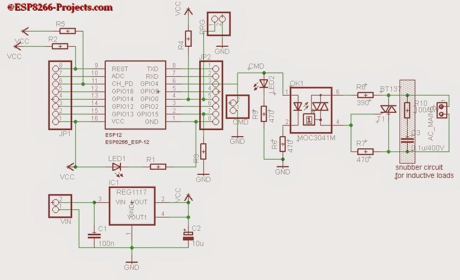 Switch Mains Power With An Esp8266 Hackaday