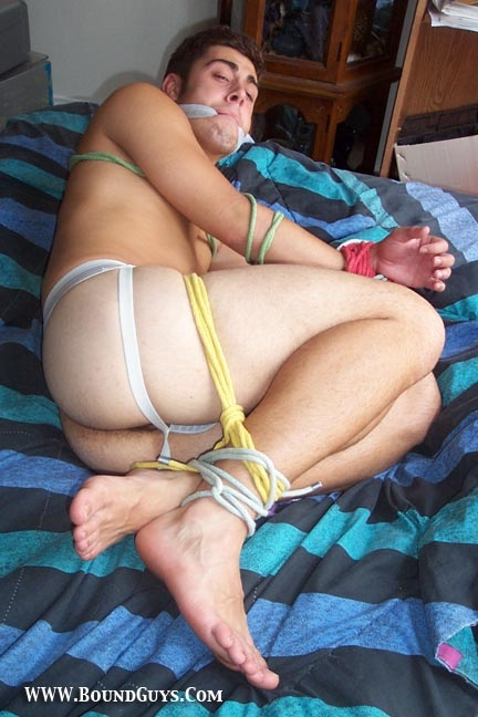 Cute Guys Tied Up