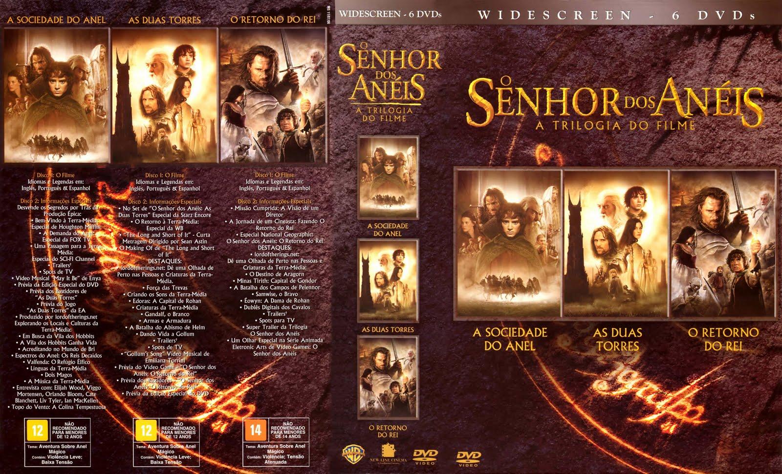 Download O Senhor Dos Anéis- Trilogia Completa 720p HD Versão ...