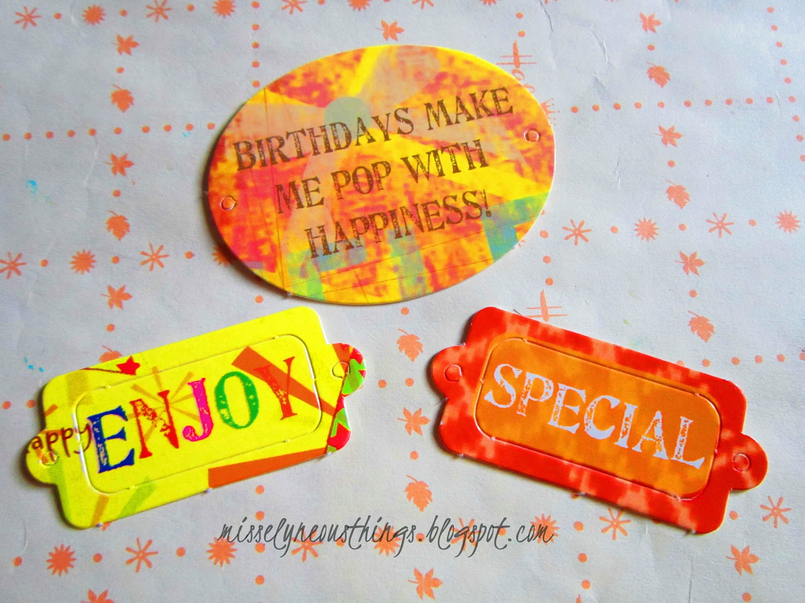 How to make scrapbook simple - These Embossed Cardboard Decorations Add Texture And Crafty Look To Our Cheap Scrapbook Project Here Are Some Of Hallmark S All About Scrapbooking Embossed