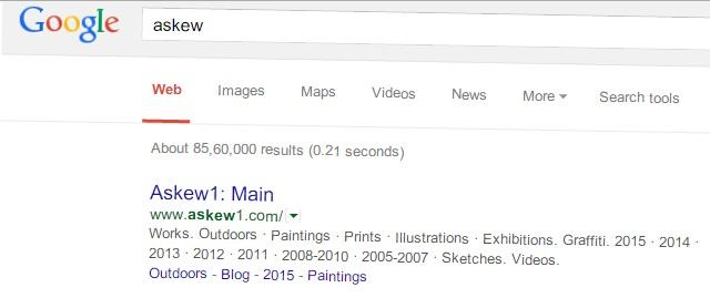 Google Trick Askew