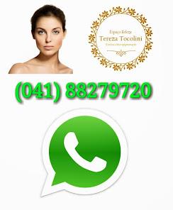 Whatsapp (agendamentos, dúvidas e acompanhamento)